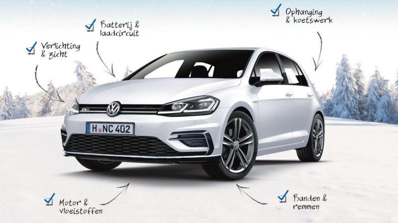 Bereid Uw Volkswagen Voor Op De Winter Vw Garage Veys