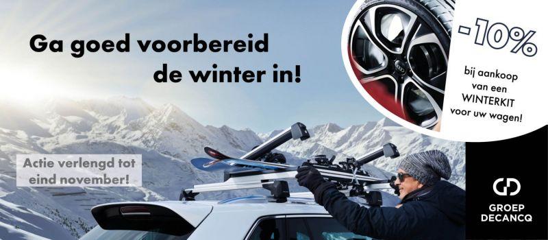 Ga Goed Voorbereid De Winter In Vw Garage Veys